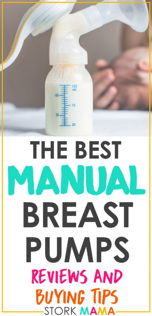 Best Manual Breast Pump Reviews | Discover how to choose the best manual breast pump for your breastfeeding needs as we reveal our reviews of the different models out there. Stork Mama