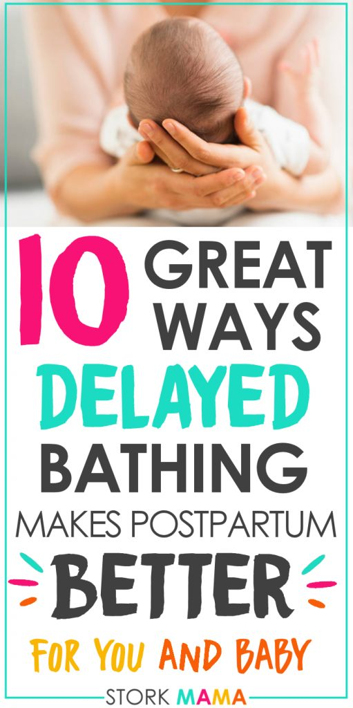 10 Important Reasons To Delay Baby's First Bath | The benefits of delayed bathing for newborn babies is cathing on. Discover why you need to consider postponing your babys first bath and the health benefits it brings. Stork Mama