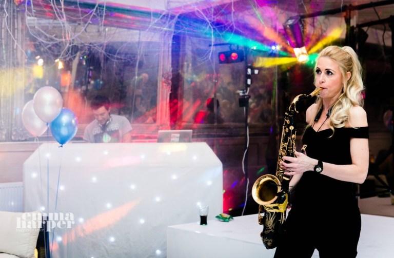 Storm DJs with Sax - Birthday Party