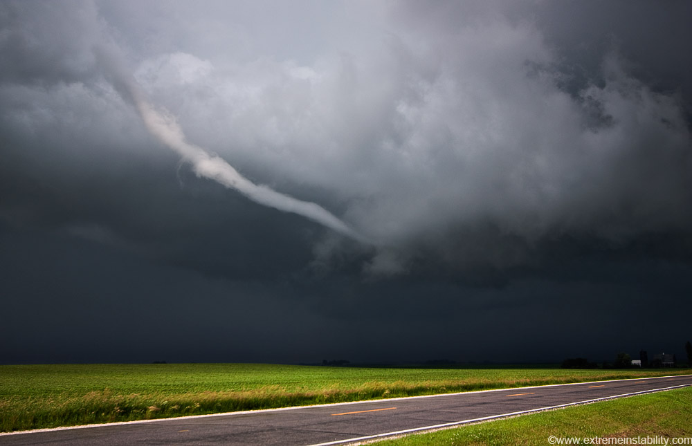 June 21 2009 Central Iowa Funnels And Tornadoes