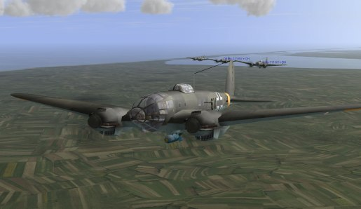 New Heinkel bombers from IL-2 1946 4.13.1 patch