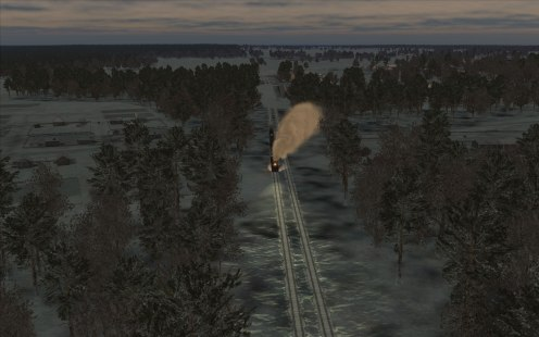 In BoM the trains have headlights