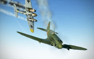mig3-heinkel-in-flames