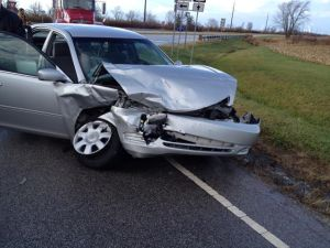 My Camry after the Crash