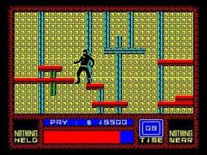 Saboteur ZX Spectrum