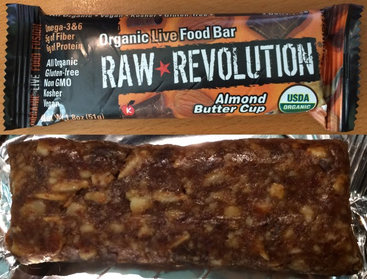 raw revolution almond butter cup