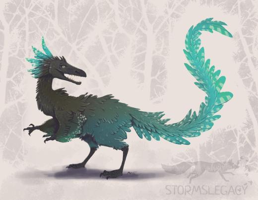 podokesaurus holyokensis art by Stormslegacy