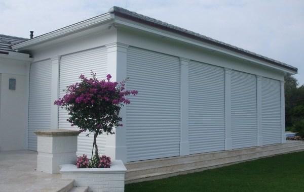 Nautilus Roll-down Storm Shutters - Residential - Vero Beach, FL