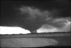 Photo of the Russiaville tornado taken by Beauford Krall.