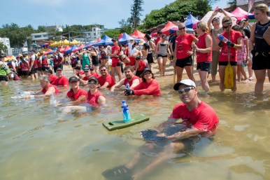 Dragon Boat races Stanley BeachTeam Stormies