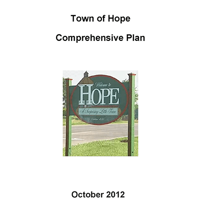 Town of Hope Comprehensive Plan (2012)