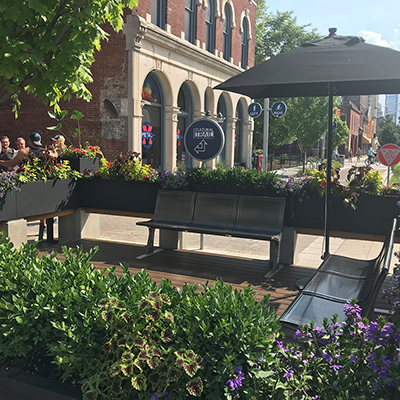 Tini Patio, Mass Ave Cultural District, Indianapolis - Opened June 18, 2018