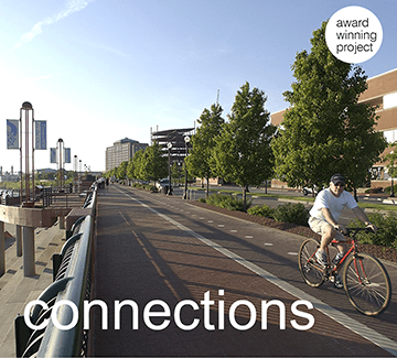 a connection created by storrow|kinsella using expertise in planning, urban design and landscape architecture