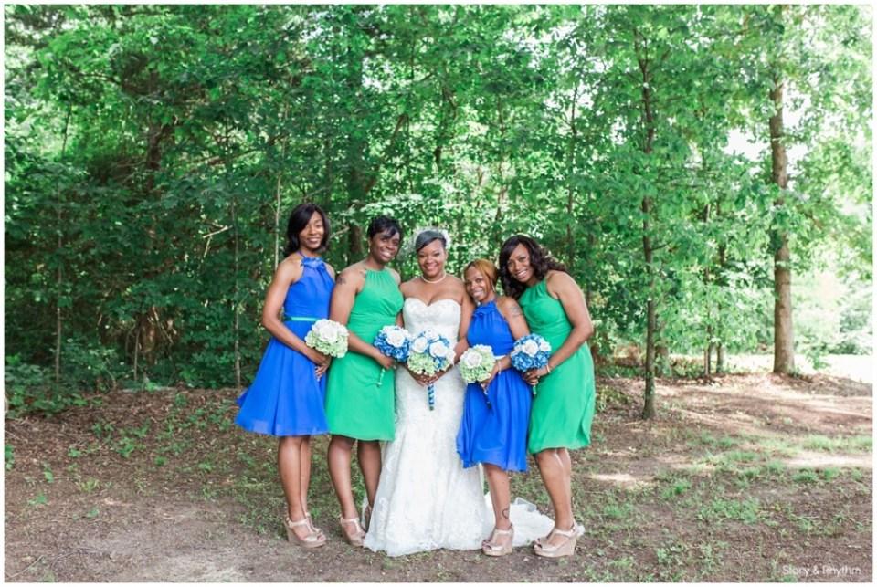 Blue and Green Wedding | Henderson Wedding DJ | Photographers ...