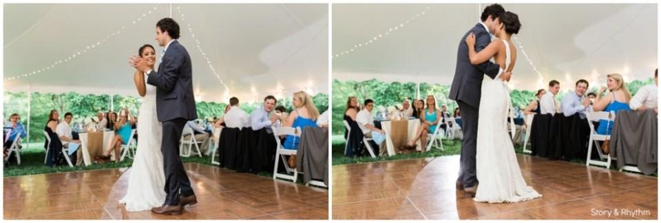 Horace Williams House reception photos