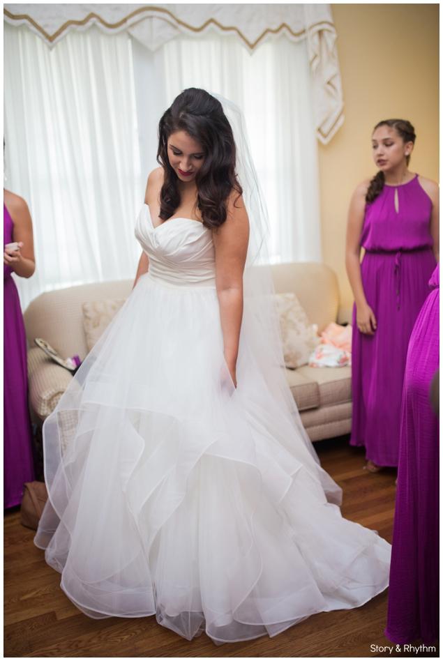 Interracial wedding photos