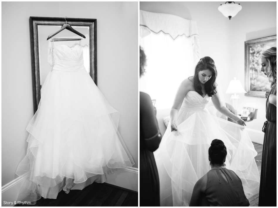 Timeless wedding photos at Rand Bryan House