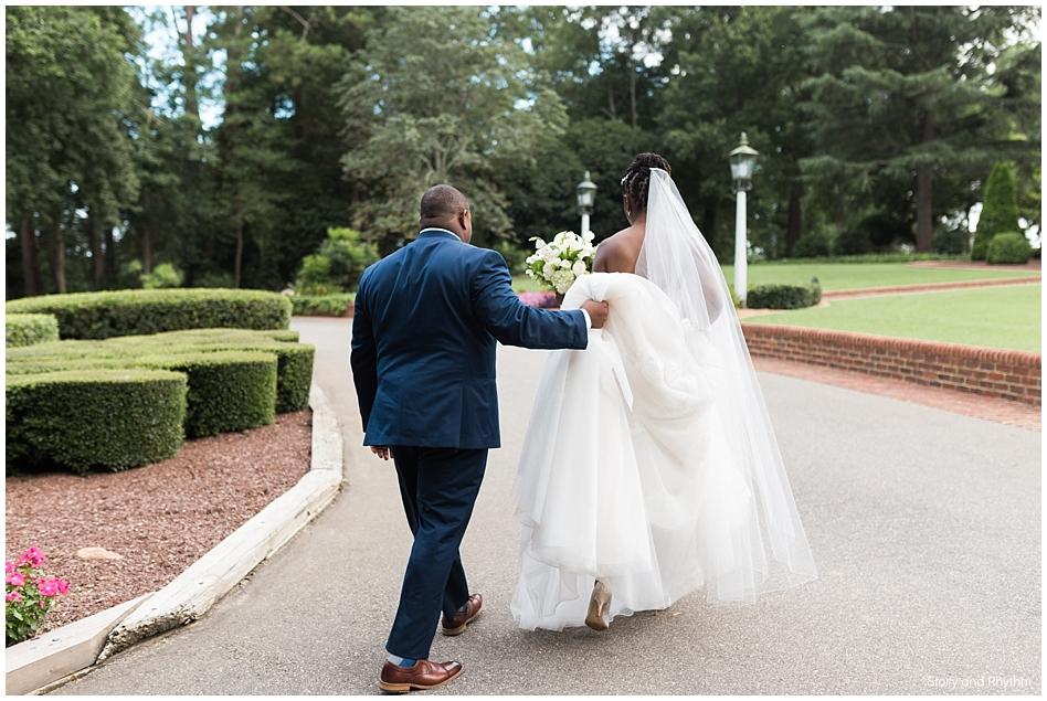 Wedding photographer and DJ at Rose Hill Plantation