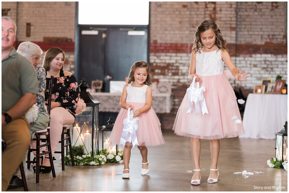 Ceremony photos in Fayetteville