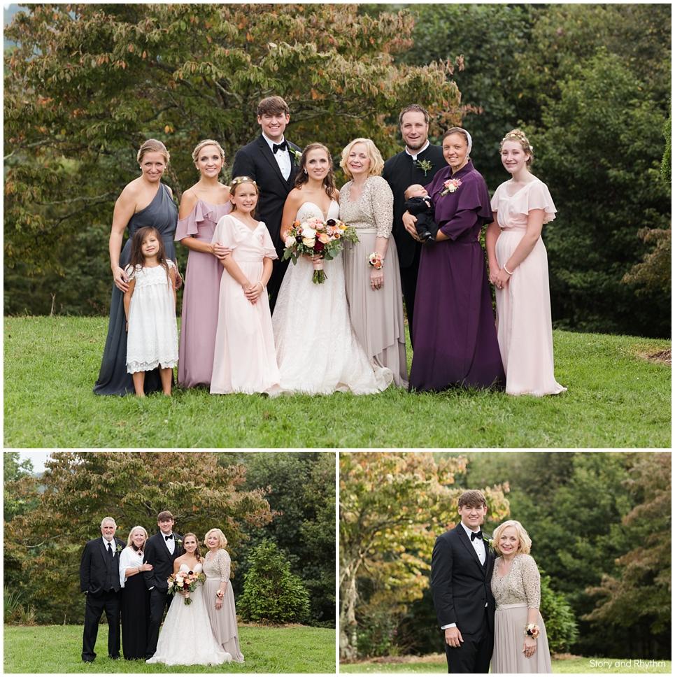 Wedding photographer in Boone, NC