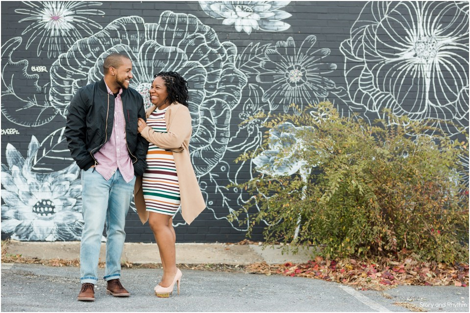Engagement photos in Maryland