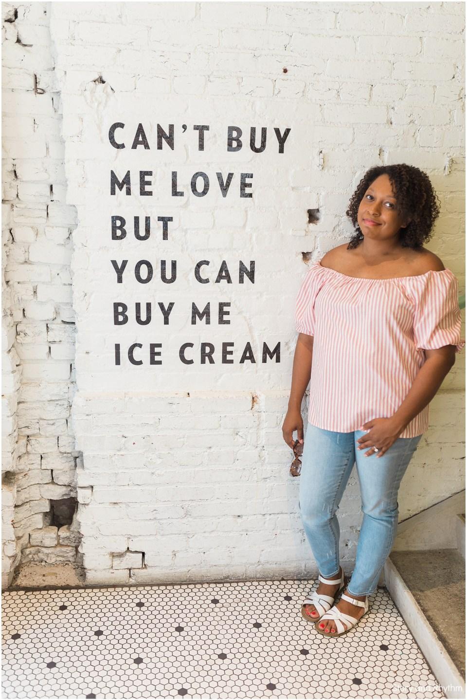 Jeni's Ice creams in Washington DC