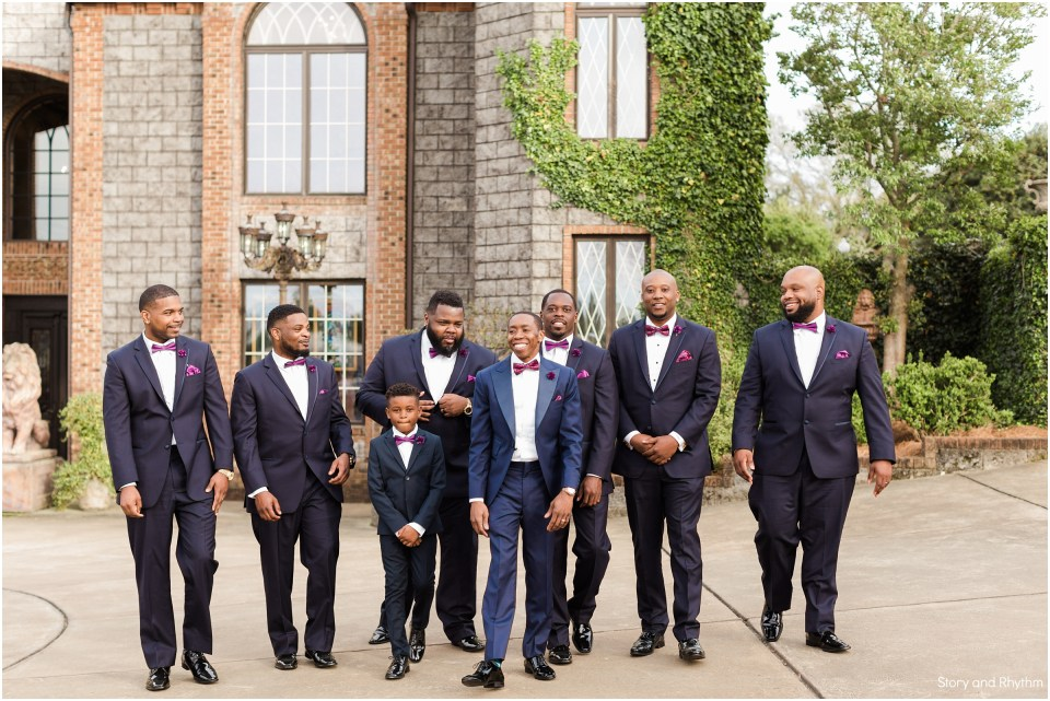 Wedding photographer at Barclay Villa
