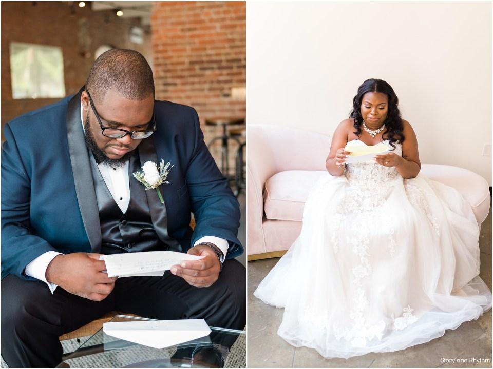 Wedding at Cotton Room in Durham NC