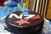 Mass Effect - N7 Cake