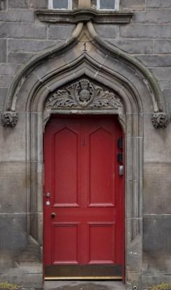 Red Square Door