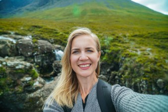 traveling as a writer in Scotland