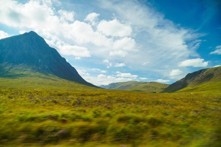 traveling as a writer in Glencoe
