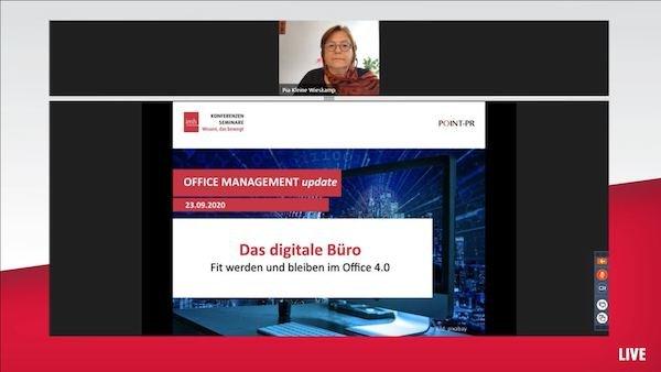 Kundenstimme Online-Seminar Digitale Büro