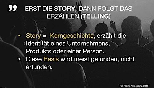 StoryDoing als das bessere StoryTeling