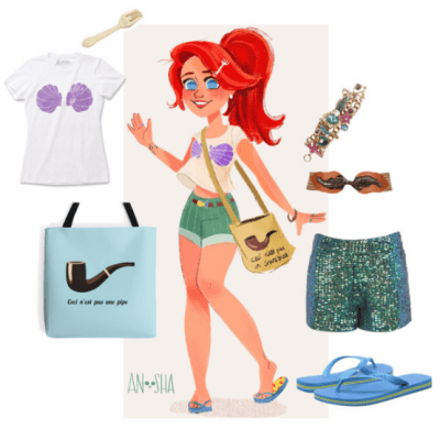Ariel Symbolically Strong Outfit on Polyvore by MissSally
