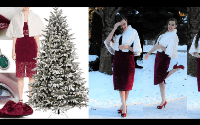 Whispers of Christmas – Holiday Outfit