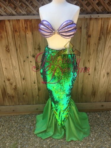 Ariel Mermaid Costume on Etsy by BbeautyDesigns
