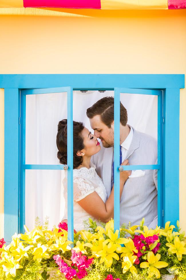 Colorful Florida Wedding At A Pop-Up Soda Shoppe | Photograph by NikkiMayDay Photography