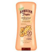 Fun Sunscreens That Gives A Nice Glow: Hawaiian Tropic Shimmer Effect Sunscreen SPF 20