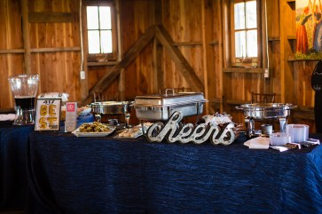 Catering at Storybook Barn Image credit: Erica Turner, Turner Creative