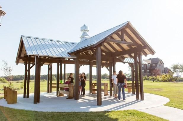 The Pavilion at Storybook Barn Image credit: Erica Turner, Turner Creative