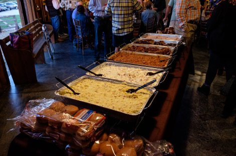 Storybook Barn - Glendale High School Class of '67 50th Reunion. Food by Skinner's Ribs & BBQ. Image credit: Gary Allman