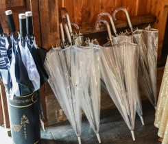 Umbrellas at Storybook Barn, Missouri