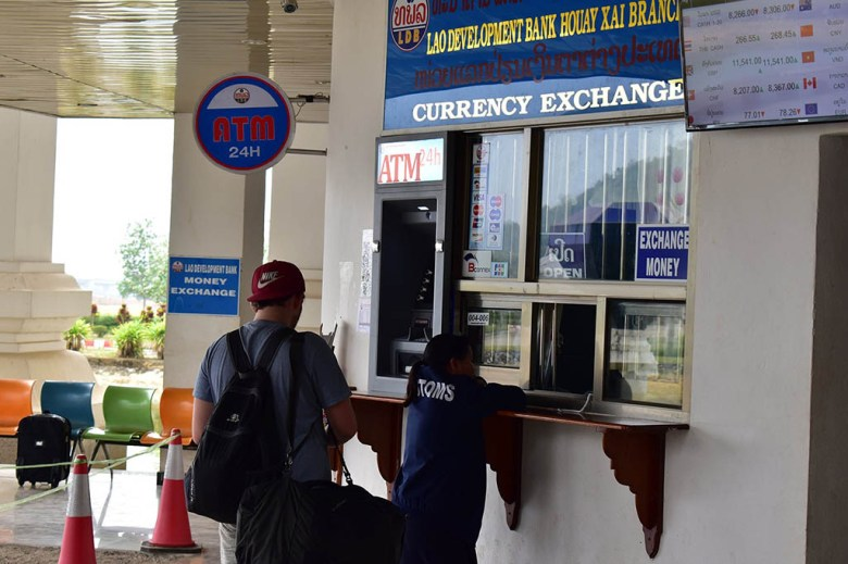 Slow boat to Luang Prabang: you can get Laos currency at the border crossing