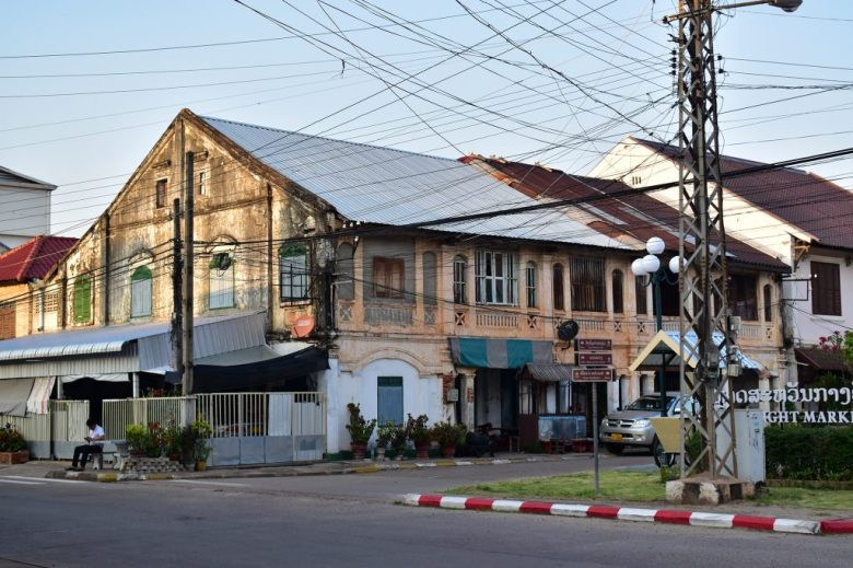 French colonial architecture Savannakhet