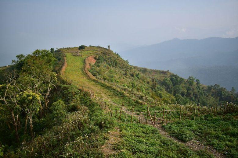 Luang Prabang to Vang Vieng countryside view