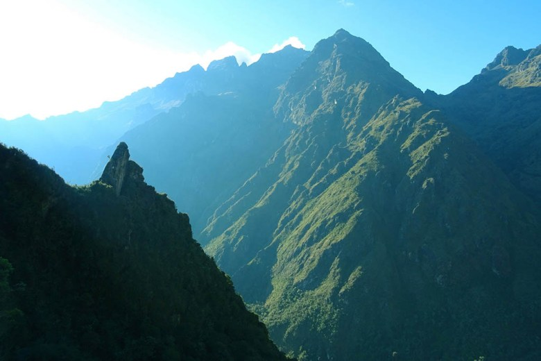 Hiking the Inca Trail: the route is packed with incredible Andean scenery