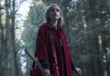 Sabrina CAOS Woods Red Coat