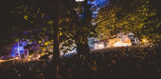 Crowds at the Forbidden Forest festival 2017