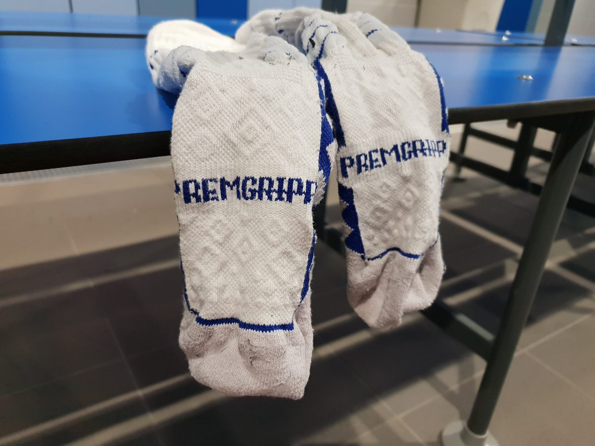 991471fa7 Premgripp football socks have found their way into changing rooms up and  down the football pyramid